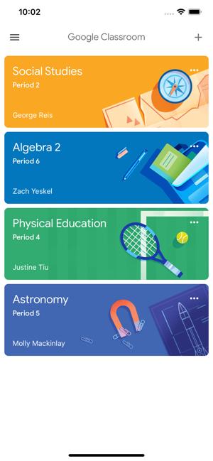 Znalezione obrazy dla zapytania: Google Classroom