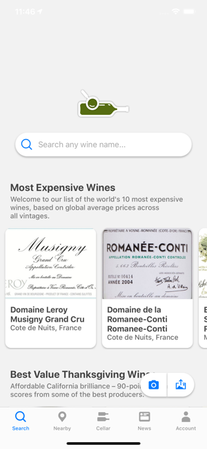 Wine Searcher On The App Store