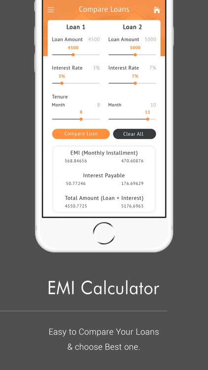 EMI Calculator & Loan Compare screenshot-3