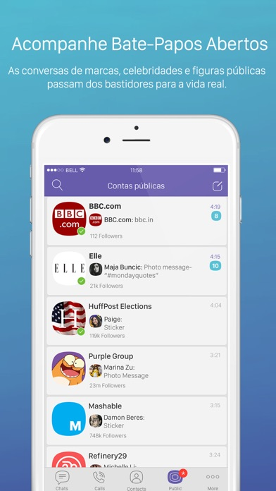 Screenshot for Viber Messenger in Portugal App Store