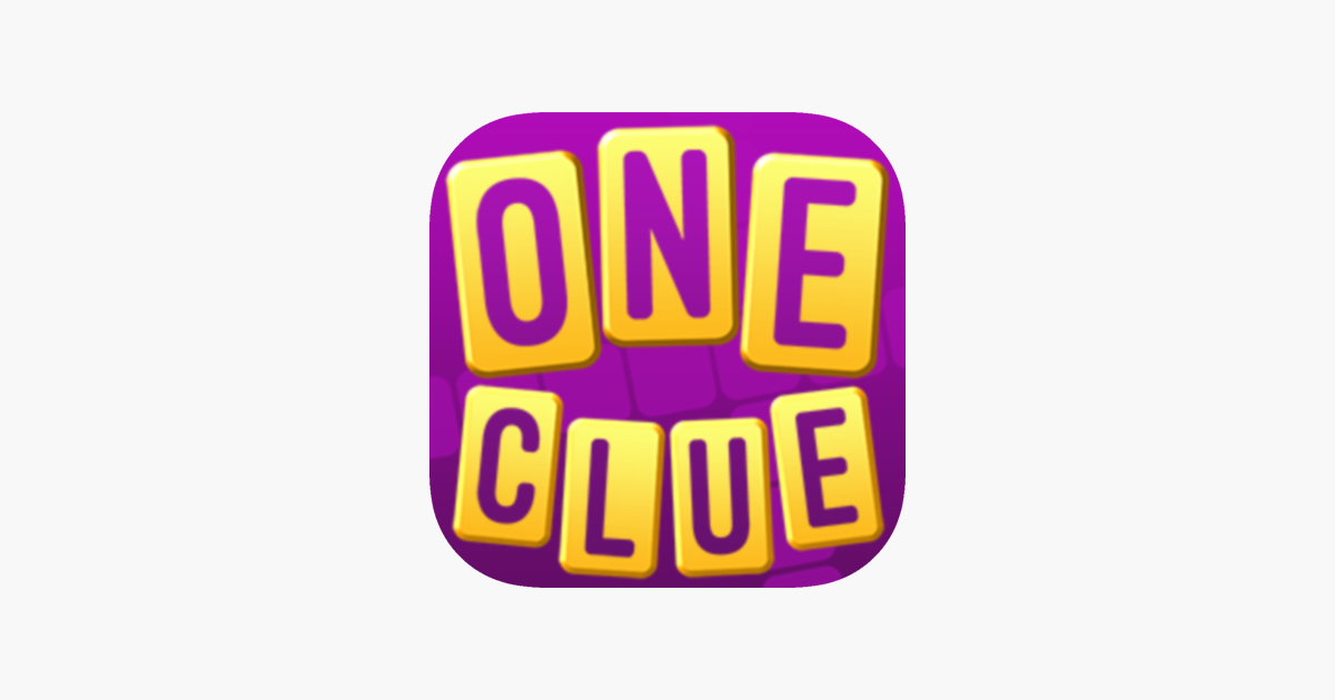 One Clue Crossword on the App Store