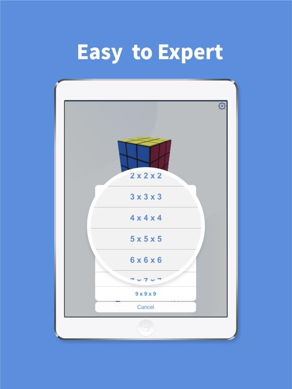 Rubiks Cube-Numpuz Puzzle Game screenshot 2