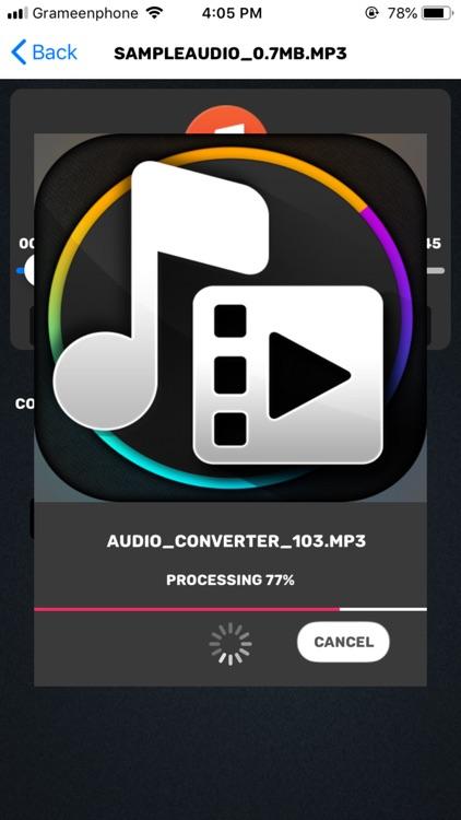 Video Audio Converter & Editor screenshot-7
