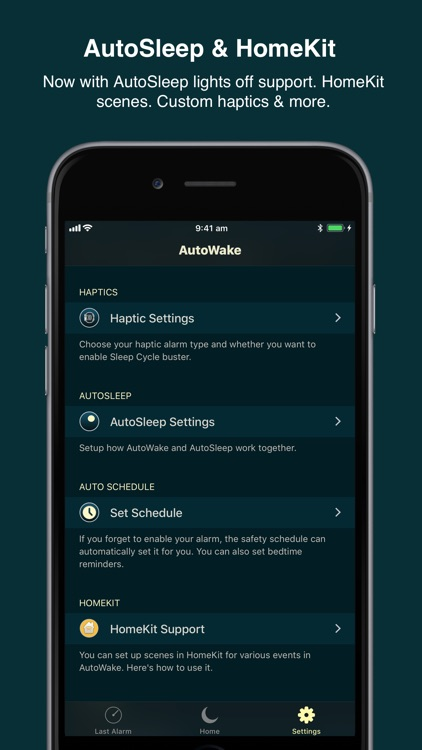AutoWake. Smart Sleep Alarm screenshot-6