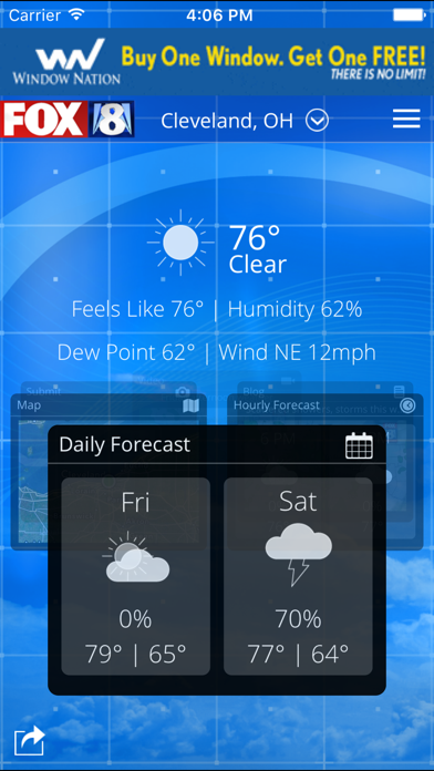 FOX8 Cleveland Weather iOS Application Version 4 10 600