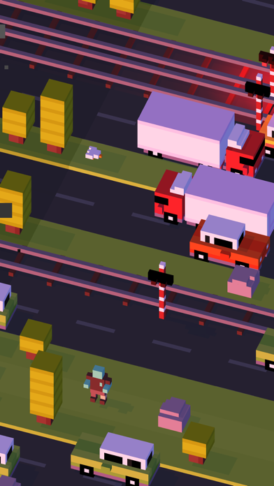 Screenshot for Crossy Road in Indonesia App Store