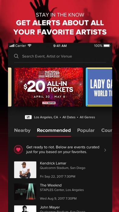 download Live Nation – For Concert Fans apps 4