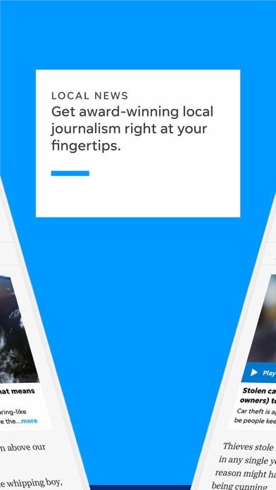 Bucyrus Telegraph Forum Screenshot on iOS
