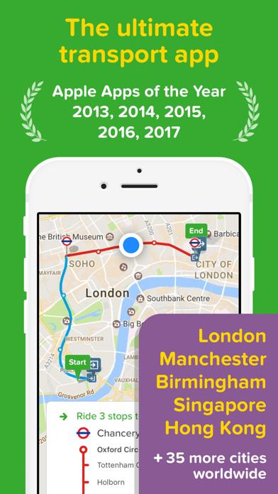 Screenshot for Citymapper in Egypt App Store