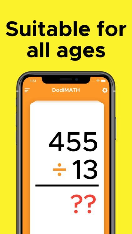 Math Flash Cards by DodiCards screenshot-4