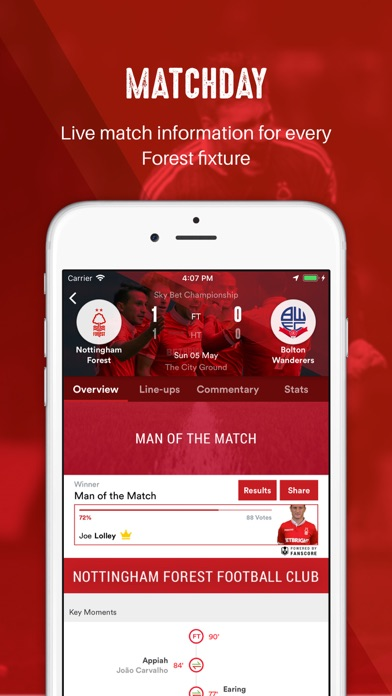 Nottingham Forest - Official screenshot two