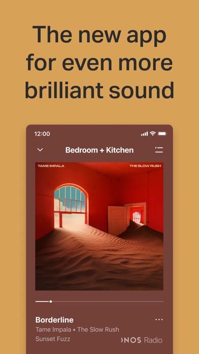Sonos screenshot 1
