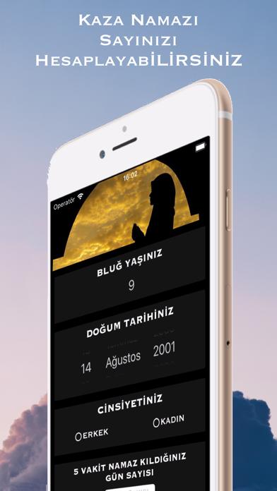 Kaza Namazı Hesaplama & Takibi iphone ekran görüntüleri