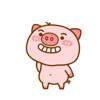 Anping Li - Lovely Pig Animated Stickers  artwork