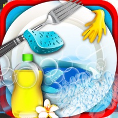 Activities of Princess Dish Washing