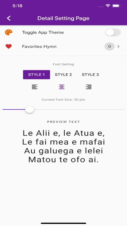Samoan Hymn screenshot-7