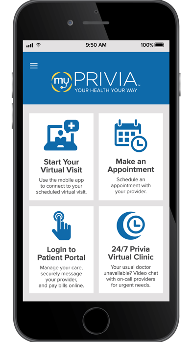 messages.download myPrivia software