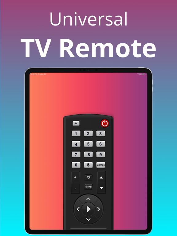 Universal TV Remote screenshot #1
