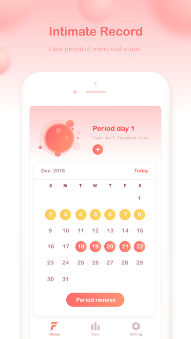 Flogirl Period-Period Tracker screenshot three