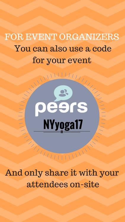 PEERS - Event Networking screenshot-6