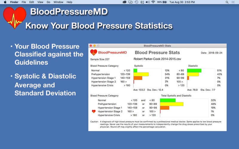 BloodPressureMD: Heart Health скриншот программы 6