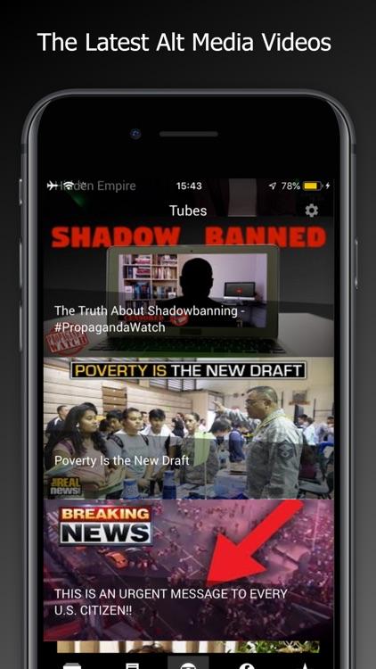 TruthSeeker- Alternative Media screenshot-3