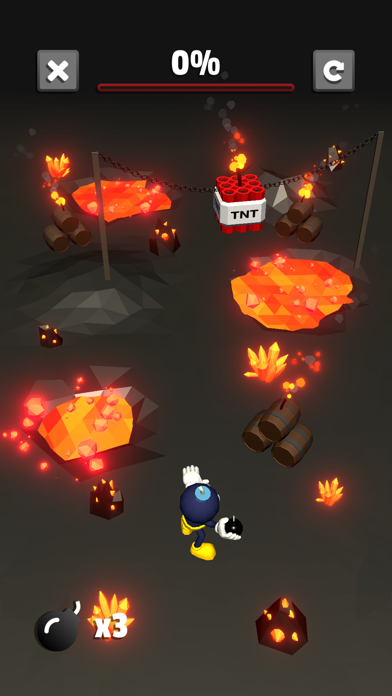 Blow it Up - Explosive Puzzles screenshot two