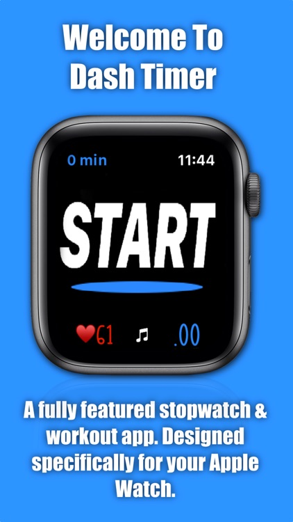 Dash Timer - Workout Companion by David Voland