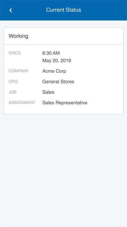 Paychex Time screenshot-4