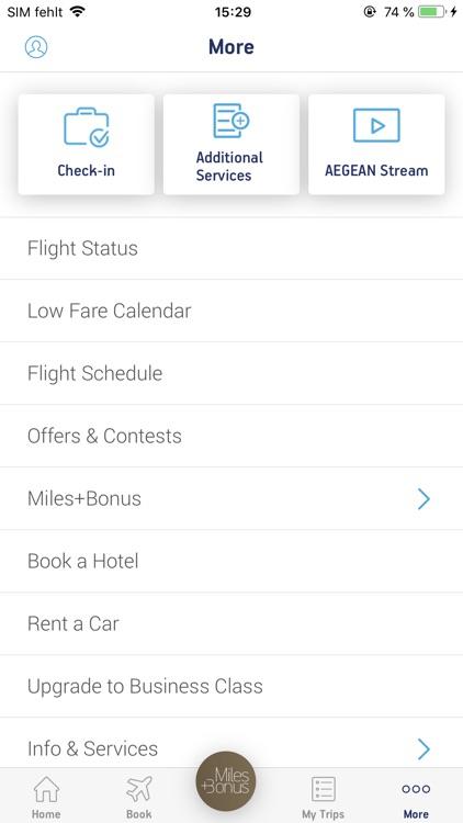 Aegean Airlines screenshot-5