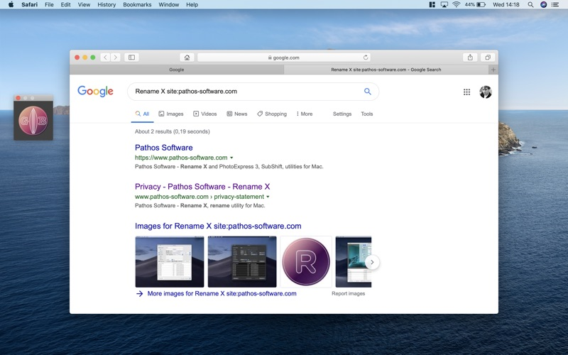 GeeBoard - Advanced Web Search for Mac