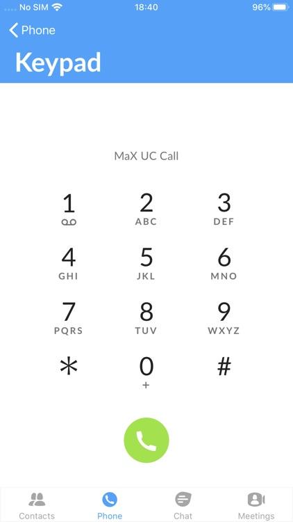 MaX UC screenshot-4