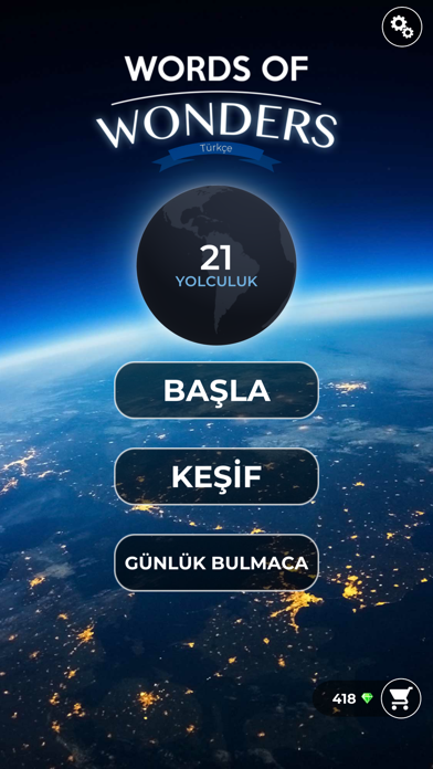 Screenshot for Words Of Wonders: Harf Bulmaca in Turkey App Store