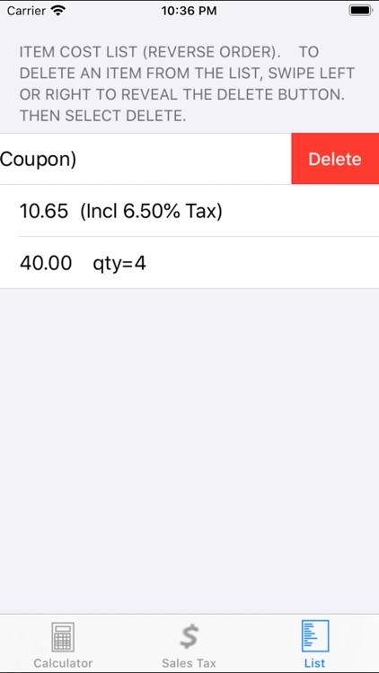Ez Shopping Calculator screenshot-5