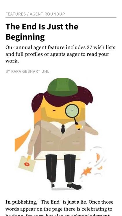 Writer's Digest Magazine screenshot-3