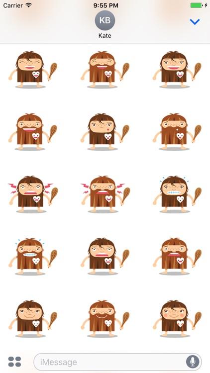 Emoticon Cave - Stickers