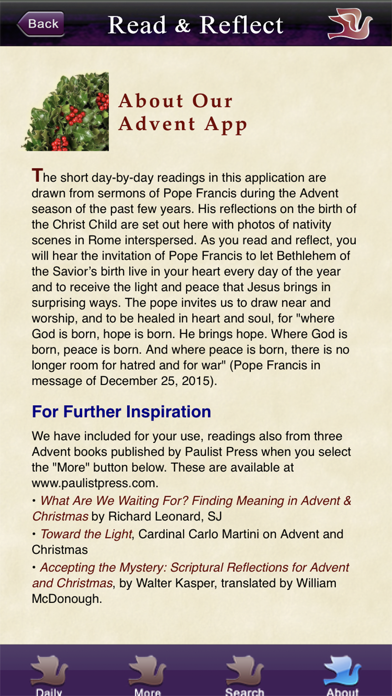 Screen Shot Advent with Pope Francis 4