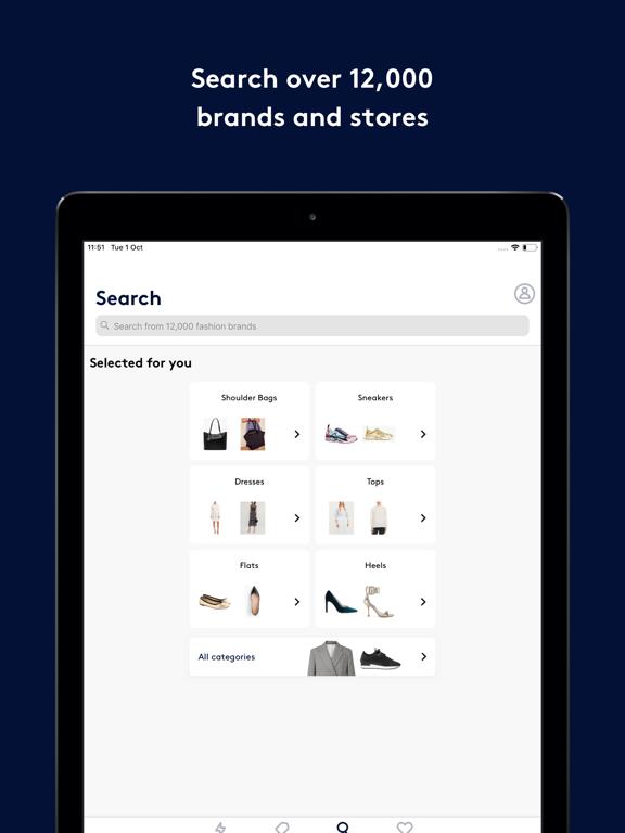 Screenshot #6 pour Lyst: Shop designer brands
