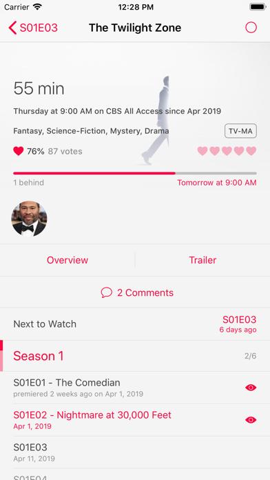 SERIST - TV Show Trackerのおすすめ画像6