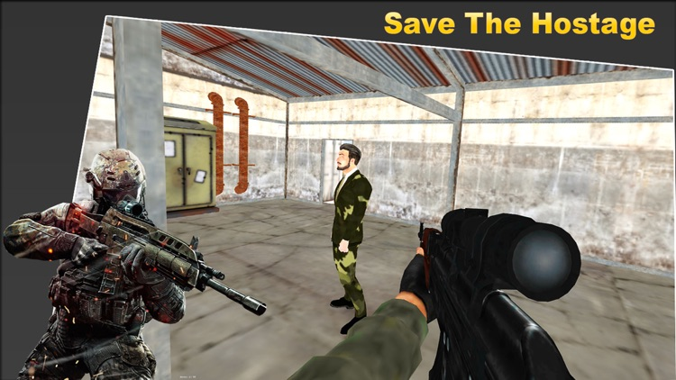 Commando strike Gun Shooter screenshot-7