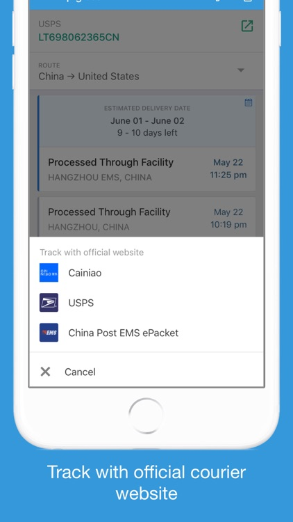 Parcels - Track Your Packages screenshot-5