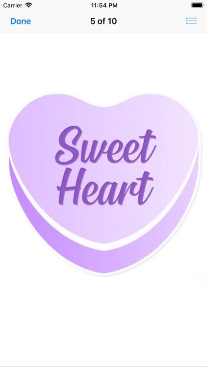 Candy Hearts Love screenshot-6