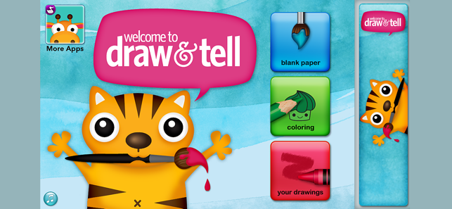 ‎Draw and Tell Screenshot