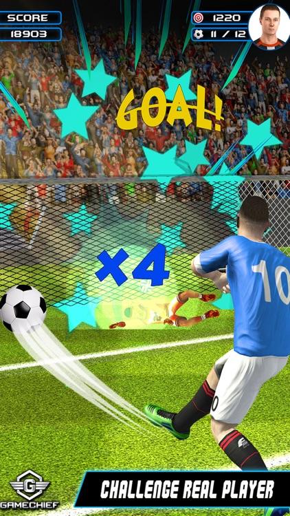Flick Soccer Champions League screenshot-3