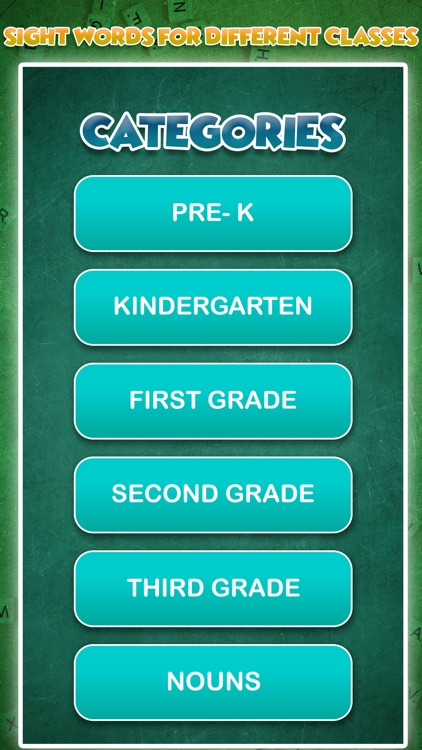 Match Sight Words-Pre-K to 3rd