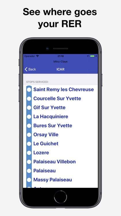 Mon Écran — RATP Schedules & + screenshot-4