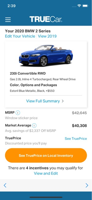 TrueCar: The Car Buying App on the App Store