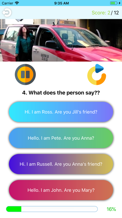 Video Quizzes-Listen N Answer screenshot #2