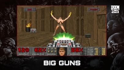 Screenshot from DOOM II