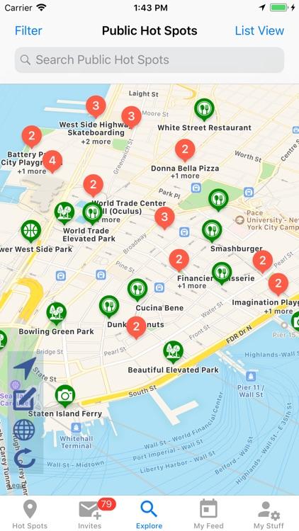 Voux - Meetup, Chat, Share screenshot-4